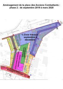 Plan zonage travaux phase 2