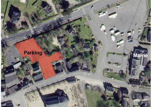 Situation parking provisoire