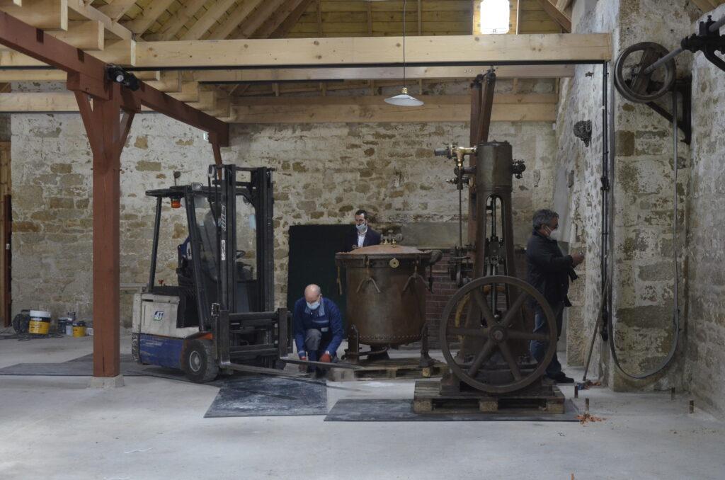 Retour des machines à vapeur et autoclave